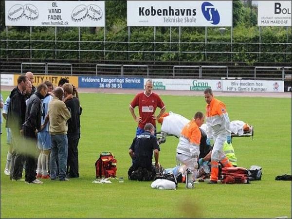 Những tai nạn bóng đá kinh hoàng chấn động một thời