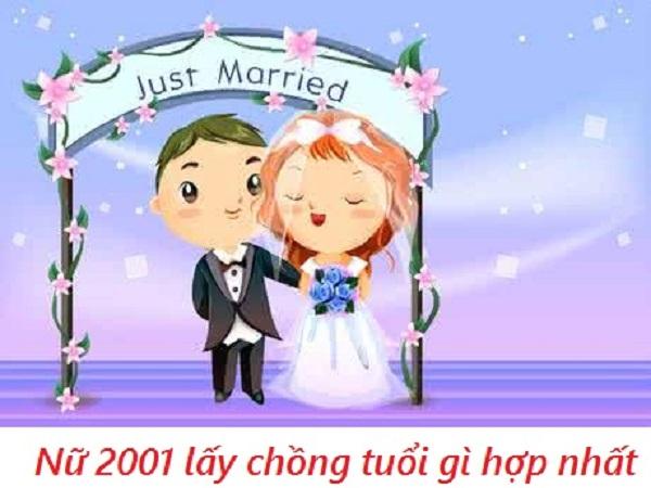 Nữ 2001 lấy chồng năm 2021 được không