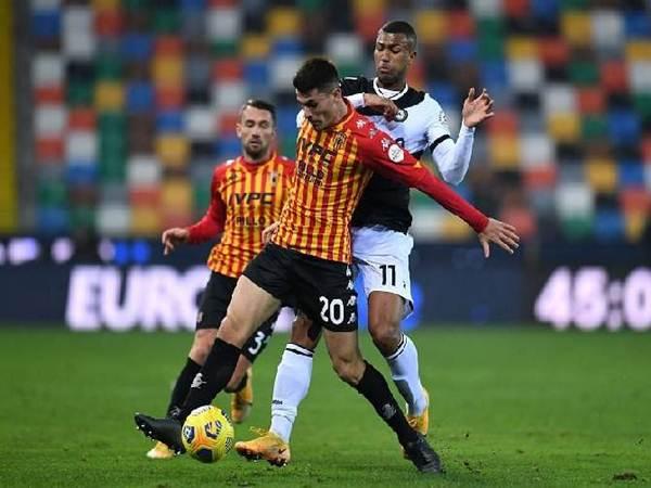 Dự đoán bóng đá Benevento vs Udinese (17h30 ngày 25/4)