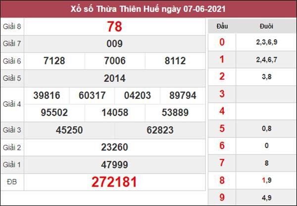 Nhận định KQXS Thừa Thiên Huế 14/6/2021 thứ 2 tỷ lệ trúng cao
