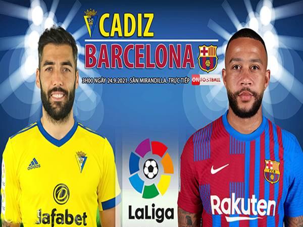 Soi kèo Châu Á Cadiz vs Barcelona, 03h00 ngày 24/9
