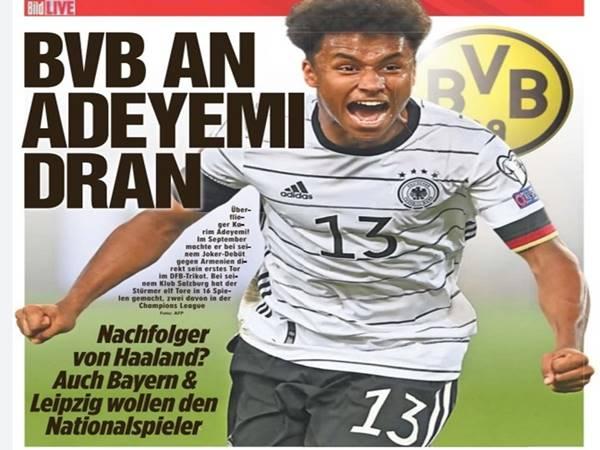 Tin thể thao 12/10: Dortmund nhắm mua ngôi sao của CLB Salzburg